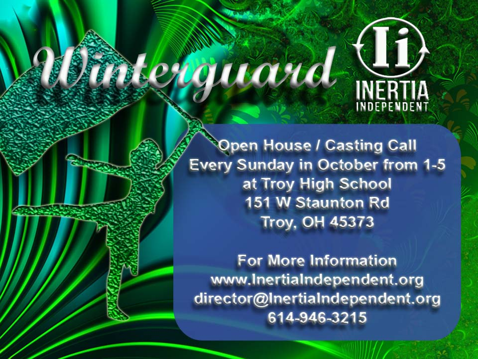 Winterguard Open House Casting Call